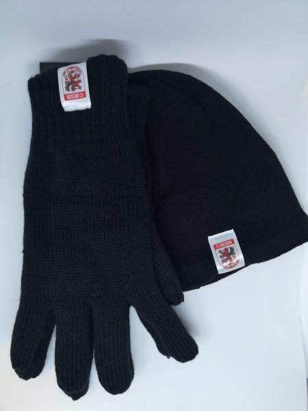 Winterset - Handschuh + Mütze