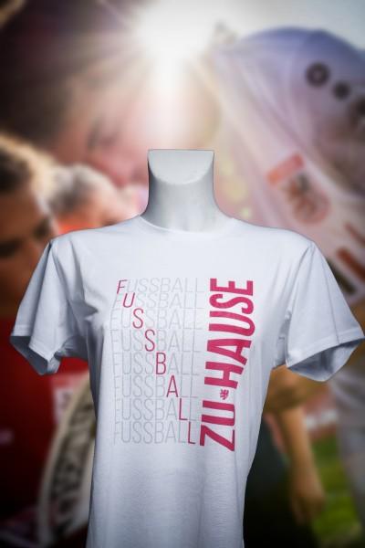 """T-Shirt """"Fussball zu Hause"""" Frauen"""
